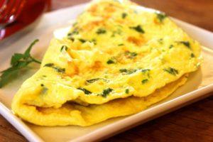 omelette hypertension