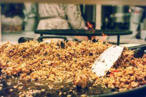 Reste de riz frit